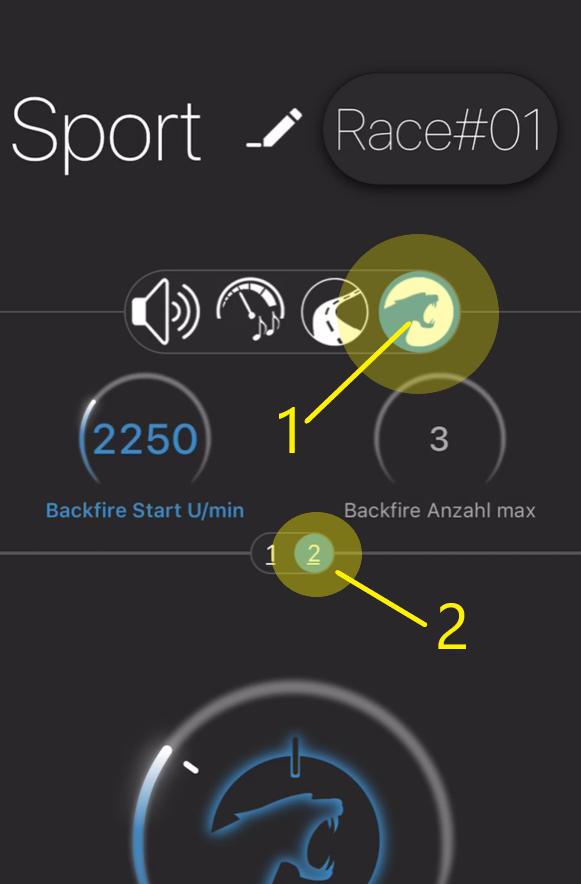 Maxhaust app backfire